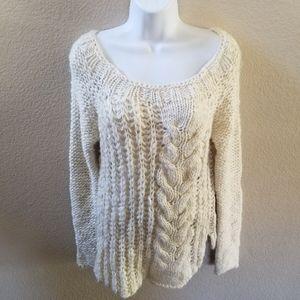 Free People Chunky Knit Sweater Size Medium